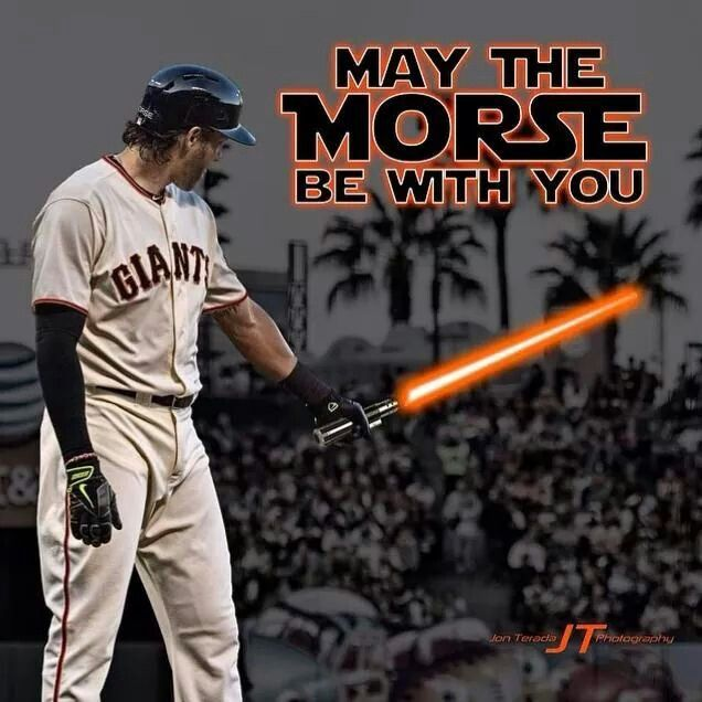 Michael Morse...May The Morse Be With You!