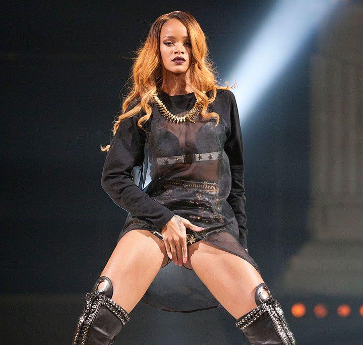 Rihanna Enjoys Painful Brazilian Waxes, Bringing Sum Total -9507
