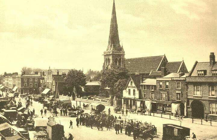 Romford market 1902