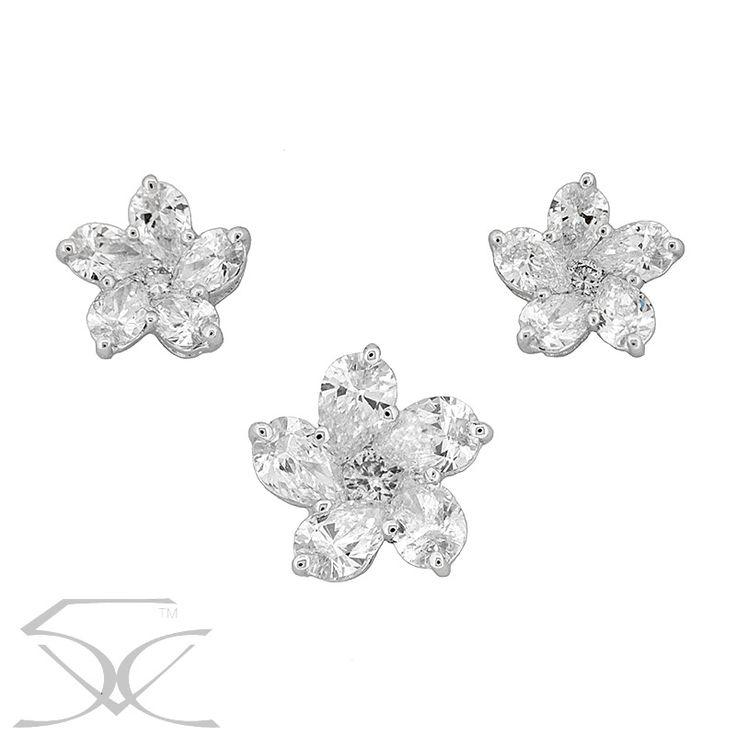 Flower Pear Diamond Pendant & Earring Price: $4,740.00 ex. GST Suite 403, Level 4 250 Pitt Street, Sydney Tel: +61412461008 Please visit us here http://ow.ly/XwzL30gSTb