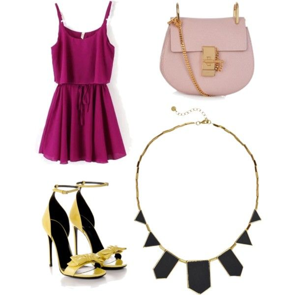 Classy girly by argkalant on Polyvore featuring polyvore fashion style Gucci Chloé House of Harlow 1960