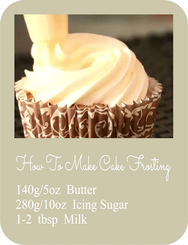 How To Make Cake Frosting | Rob Goves