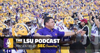 LSU football podcast: Bye week helps Tigers more than Alabama