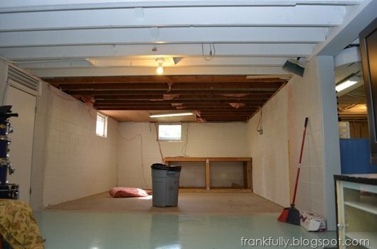 45 Best Images About Basement On Pinterest Exposed