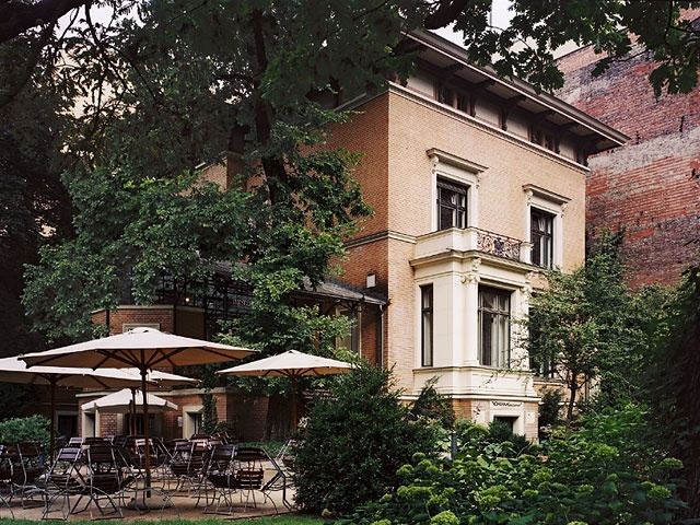 Cafe im Literaturhaus, next to the Kathe Kollwitz Museum, Berlin.