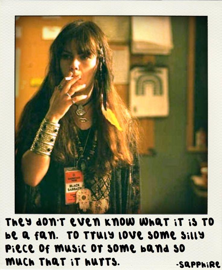 Almost Famous <3. Mi frase mantra de una peli que cambió mi vida.
