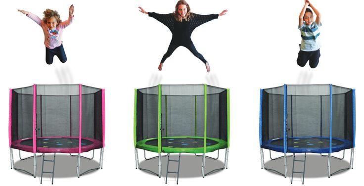 oz 8ft trampoline for kids
