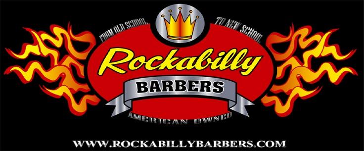 Rock Barber Shop logo.