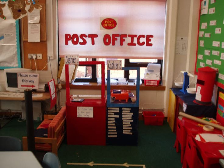 Post Office role-play classroom display photo - Photo gallery - SparkleBox