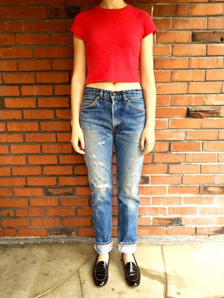 LEVIS 505 Jeans 29 Waist Orange Tab by HuntedFinds on Etsy https://www.etsy.com/listing/255412134/levis-505-jeans-29-waist-orange-tab