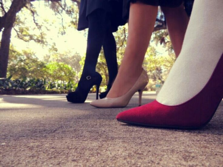 Heels, Heels and heels