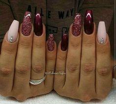 paznokcie z brokatem