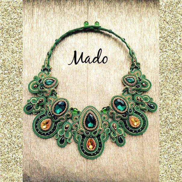 Mado soutache - Магия Сутажа. Рукоделие. Hand made