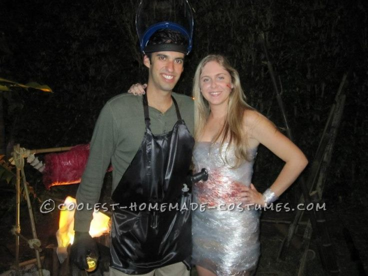 Coolest Dexter and Victim Homemade Couples Costume like whole website
