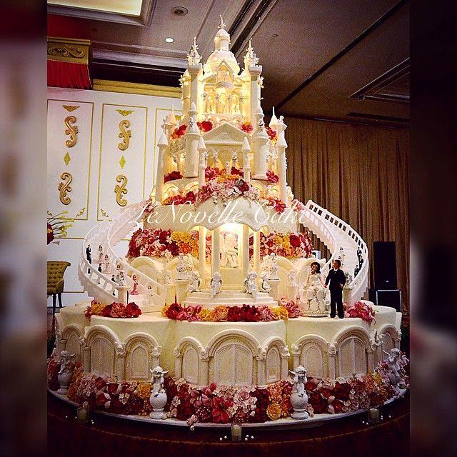Le novelle cake wedding cakes pinterest cake for Amazing wedding cake decoration game
