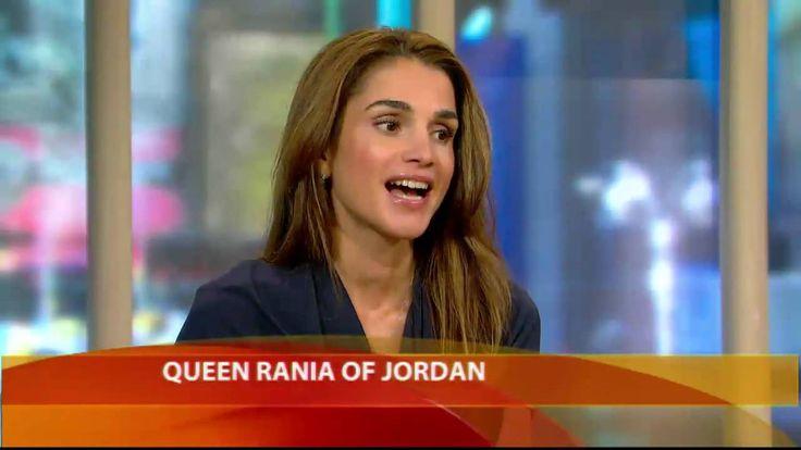 Queen Rania on 'Illegal' Israeli Settlements