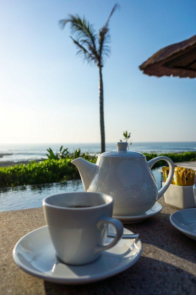 Enjoy a cup of tea in the early morning at Puri Salila, Anapuri Villas.