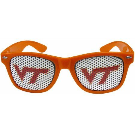 Ncaa Virginia Tech Game Day College Retro Team Logo Sunglasses, Orange