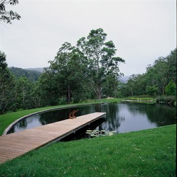 Landscape architecture ponds and landscapes on pinterest for Design agency pond