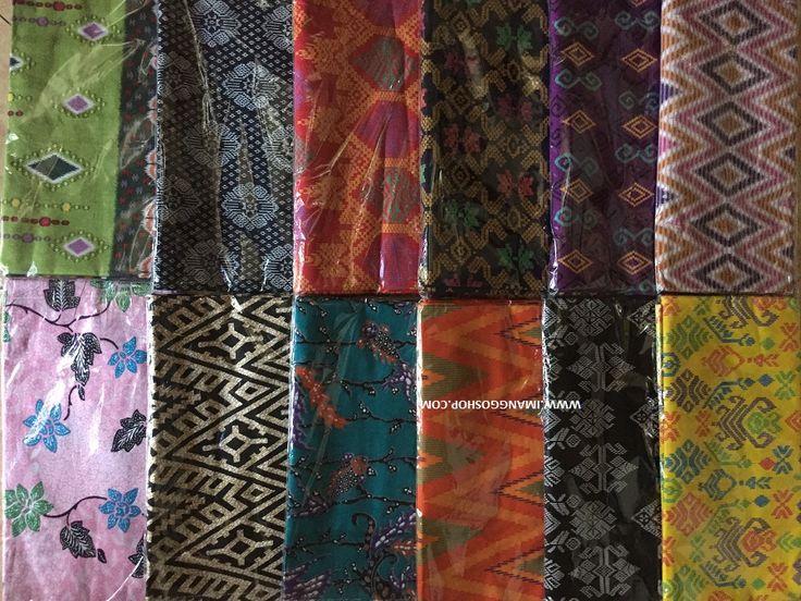 Motif-motif kain batik Indonesia