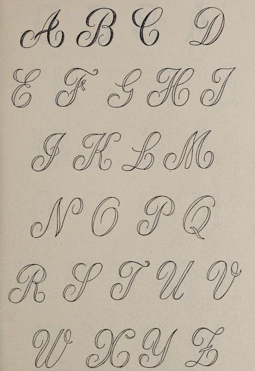 Knitting Embroidery Letters : Alphabet embroidery pattern from the public domain book