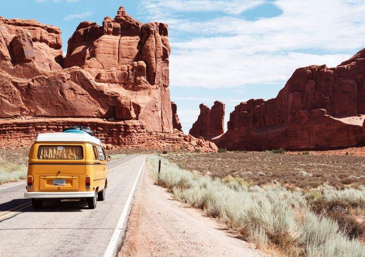 #america #busje #colorado #droog #fotos #gratis #licht #reis #Reizen #rood #rotsen #vakantie