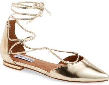 Steve Madden 'Sunshine' Lace-Up Flat ...
