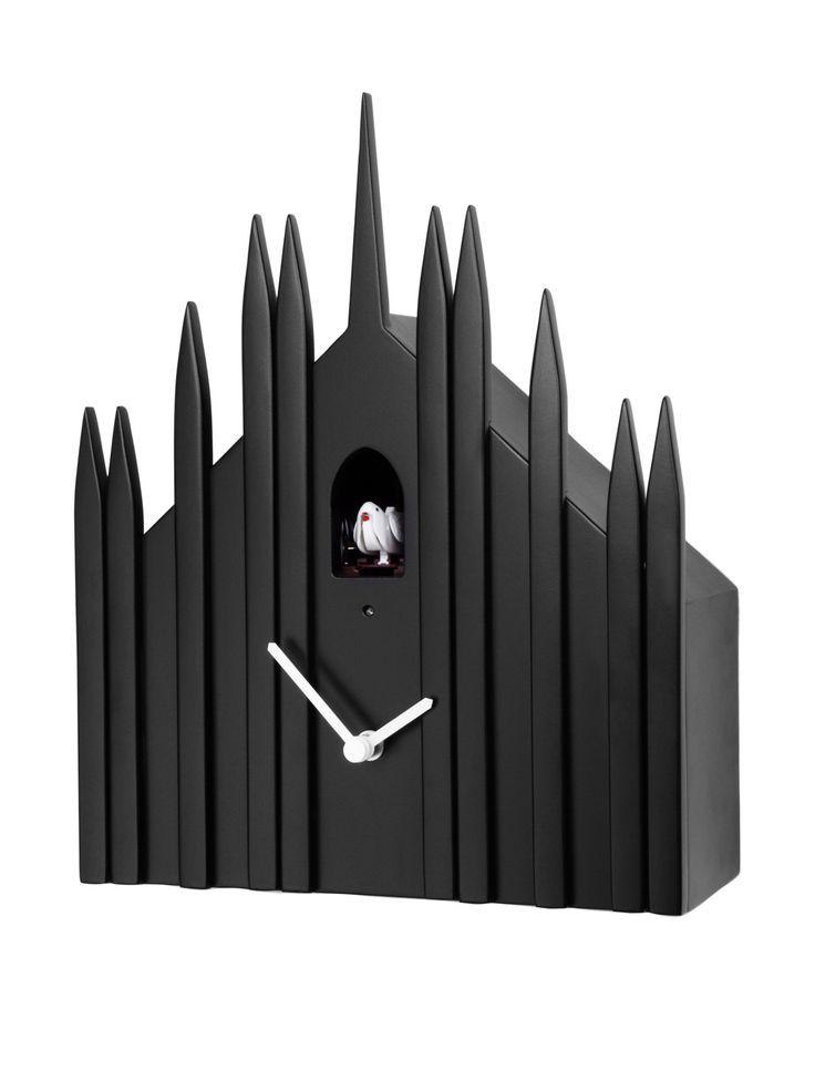 Diamantini Amp Domeniconi Reloj De Cuco Duomo Negro En