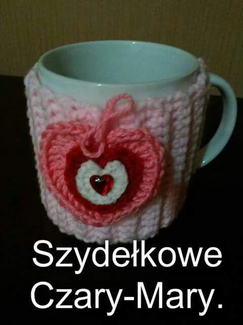 Walentynki# sweterek # kubek