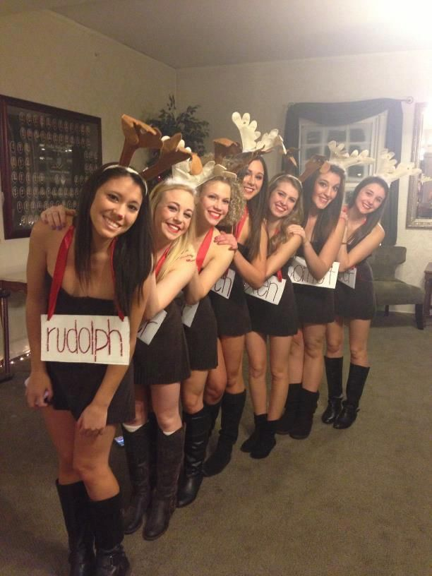 College Christmas Theme Party Ideas Part - 29: Diy Christmas Reindeer Costumes - Google Search