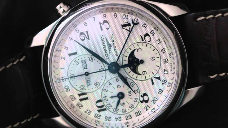 A Review of the Longines Master Collection Triple Calendar Chronograph M...