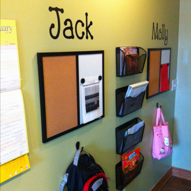 Kitchen Storage And Work Area: 25+ Best Ideas About Backpack Station On Pinterest