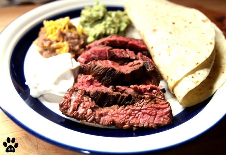 Guajillo Chile Rubbed Steak Tacos | Herbie Likes Spaghetti