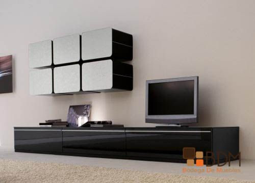 Centros de entretenimiento m s de 10 ideas elegidas for B q living room units