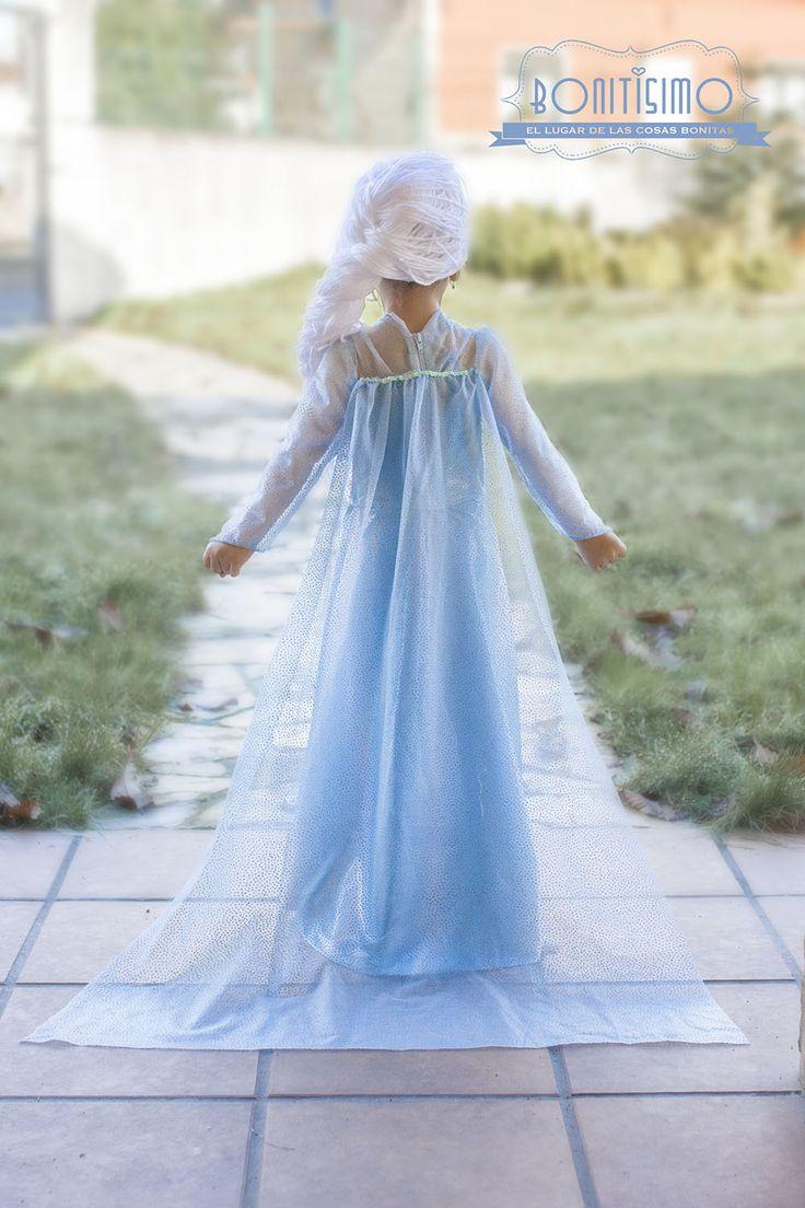 Bonitísimo - Cómo hacer un disfraz de Elsa