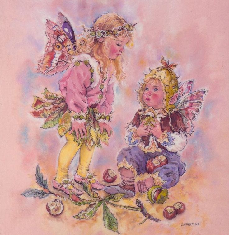 somehow seems to bring forth childhood nostalgia and memories.  Художница Christine Haworth