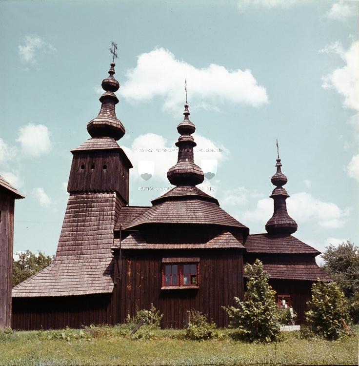 Slovakia, Wooden Church Ladomírová