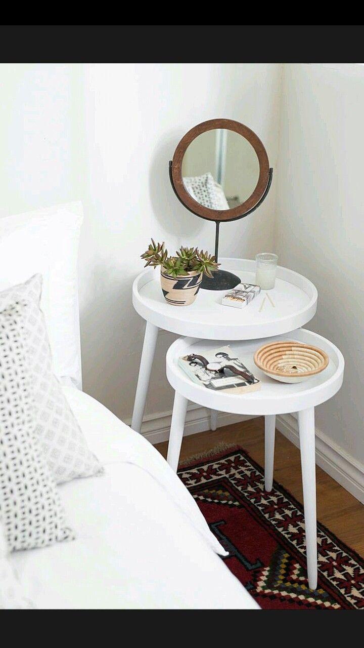 nightstand scandinavian bedroom table de chevet originale. Black Bedroom Furniture Sets. Home Design Ideas