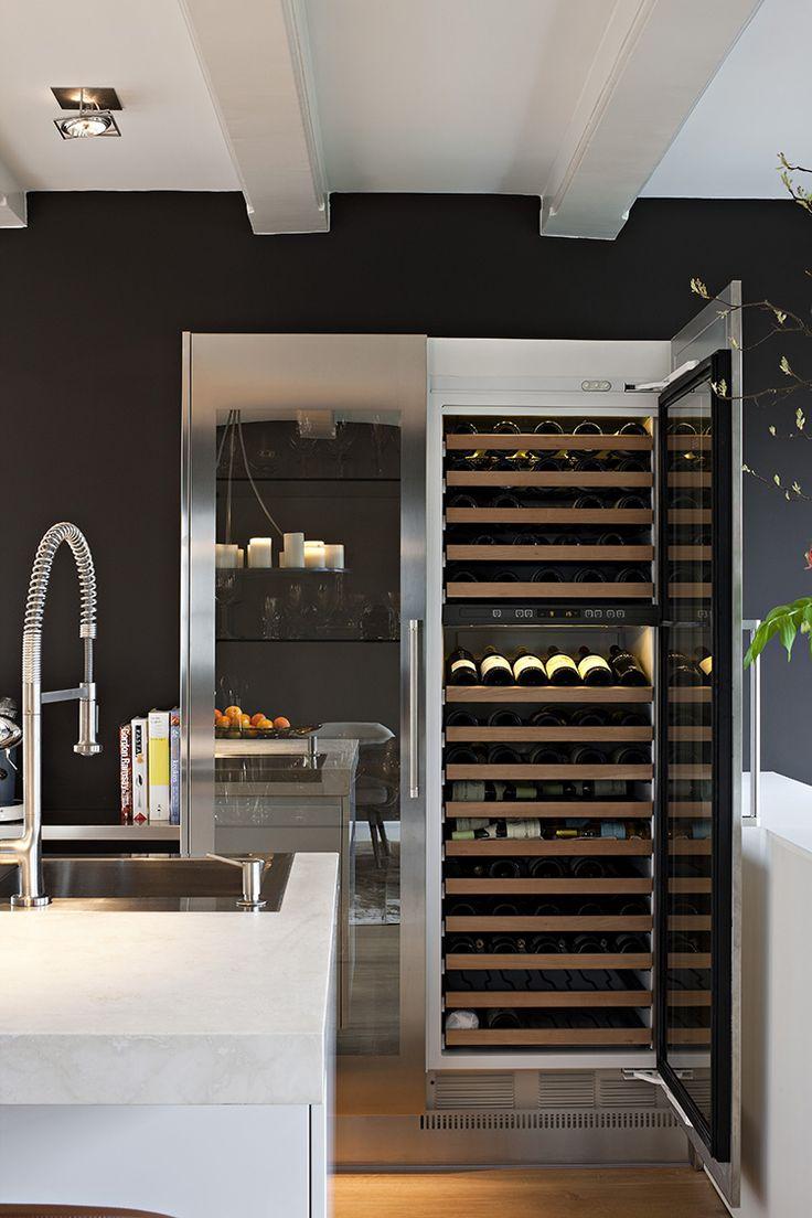 keuken wijnklimaatkast geintegreerd - Google zoeken