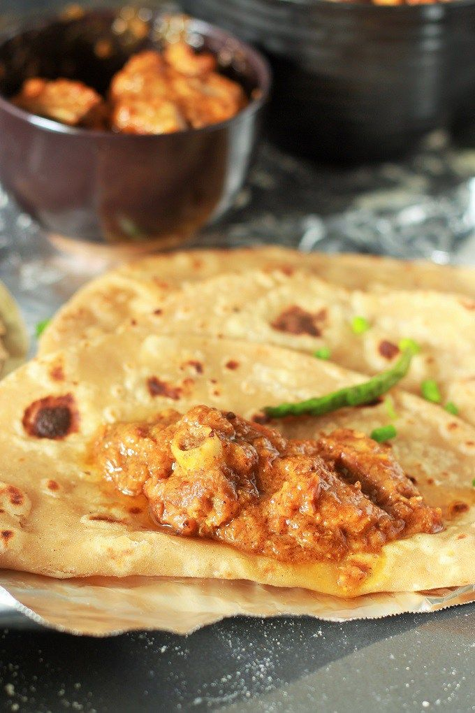 Mutton Dhansak recipe-A very delicious and different lamb dhansak recipe from the Parsi Cuisine. Lamb meat cooked along with vegetables in tomato and tamarind based gravy.