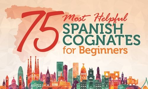 75 Most Helpful Spanish Cognates to Know [Infographic] http://takelessons.com/blog/cognates-in-Spanish-z03?utm_source=Social&utm_medium=Blog&utm_campaign=Pinterest