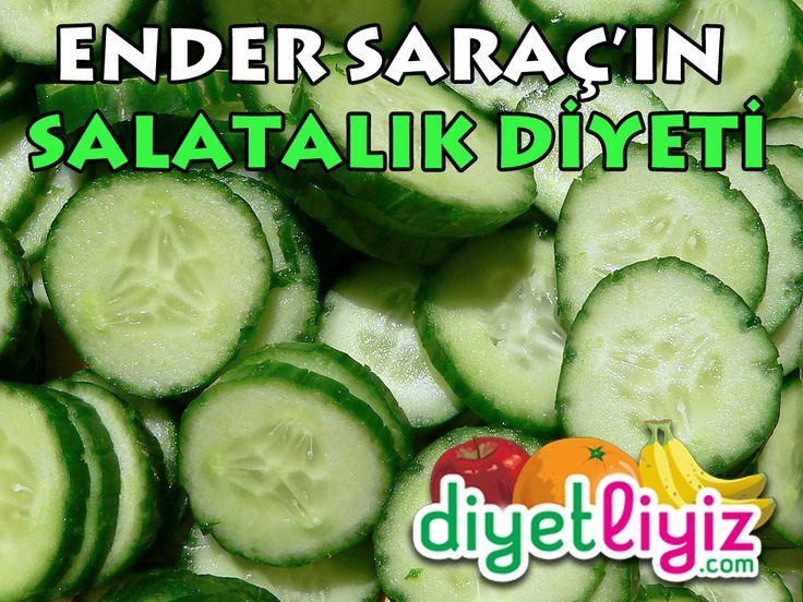 Ender Saraç'ın mucizevi salatalık diyeti sayesinde hem kolay hemde sağlıklı bir şekilde kilo verebileceksiniz.