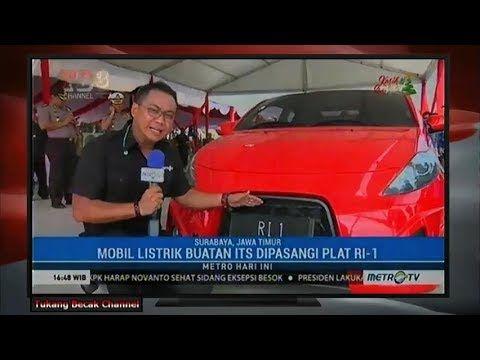 Resmikan Tol Mojokerto - Surabaya, P JOKOWI Naik Mobil Listrik ITS