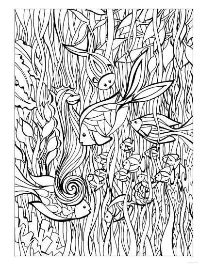 Creative Haven Dreamscapes Coloring Book Nanny Stuff