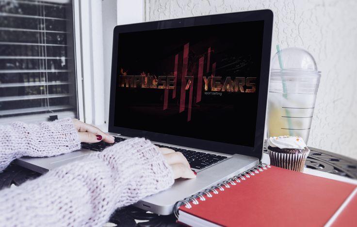 разработка сайта-визитки для спортивного клуба Impulse #business #web #graphic #design #creative #duente #withlove #дизайн #реклама #владивосток #vl