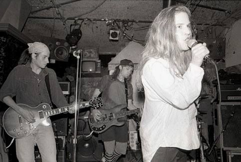 March 9, 1990 – Mother Love Bone play their final show at The Central in Seattle. via Andrew Wood