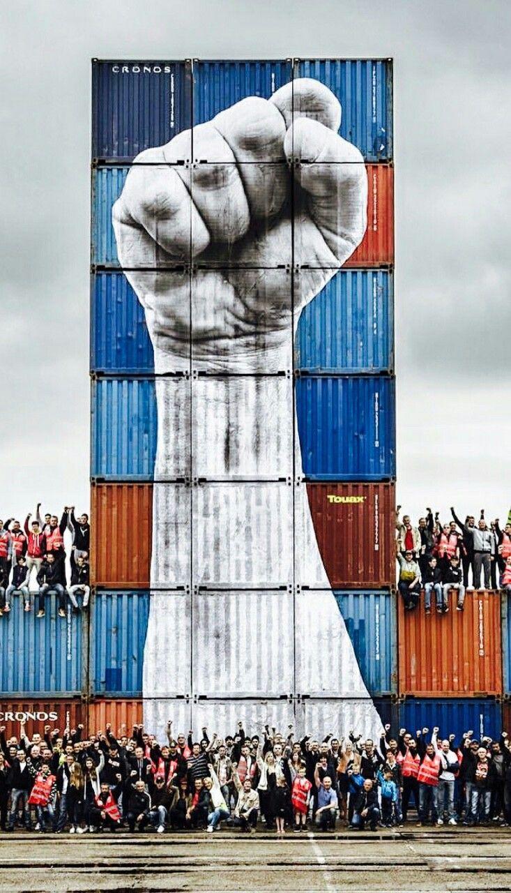Street Art in Le Havre, France