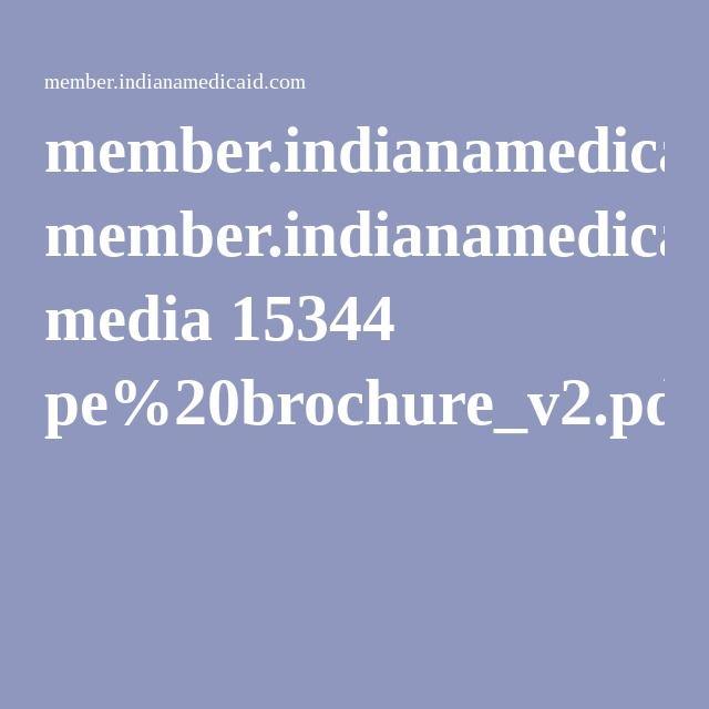 Indiana Medicaid brochure