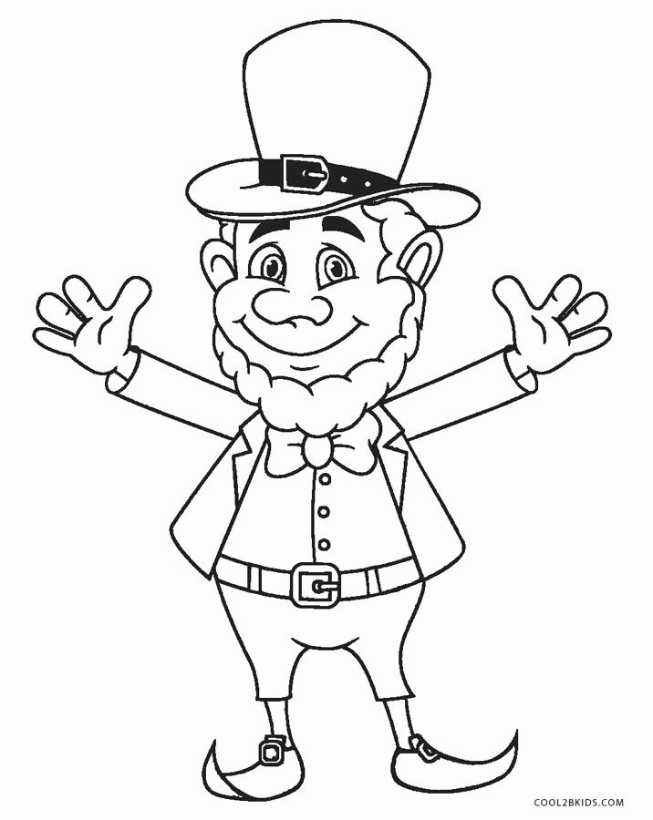 Leprechaun Coloring Pages Printable Luxury Free Printable Leprechaun Coloring Pages For Ki Printable Coloring Pages Cute Coloring Pages Coloring Pages For Kids