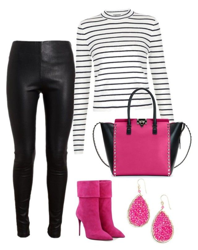 """""""Untitled #9"""" by lchrumka on Polyvore featuring Posh Girl, Balenciaga, Valentino, Panacea, women's clothing, women, female, woman, misses and juniors"""